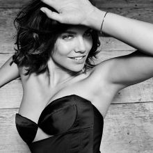 Lauren Cohan hot photo shoot for GQ 2014 October 4x UHQ