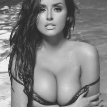 Abigail Ratchford topless pokies cleavage for Innocent magazine show big boobs 14x HQ photos