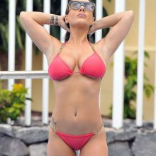 Chantelle Connelly from Geordie Shore Girl topless bikini in the pool in Tenerife 49x UHQ photos