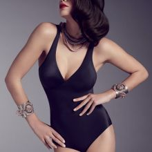 Alexina Graham sexy Wacoal Lingerie 2014 Winter 49x HQ