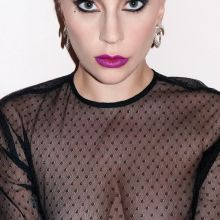 Lady Gaga topless nip slip nude V magazine 17x HQ photos