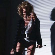 Anja Rubik sexy Vogue magazine photoshoot 2014 August 16x HQ