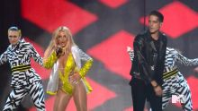 Britney Spears - MTV Video Music Awards 2016 720p sexy bodysuit on stage