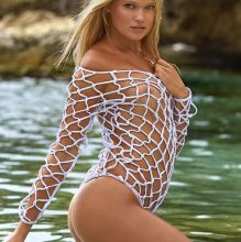 Vita Sidorkina - Sports Illustrated Swimsuit 2017 topless bare ass see through tiny bikini big ass 30x HQ photos