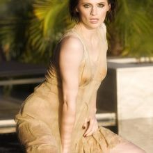 Stana Katic in see through wet dress on Jadran Lazic photo shoot 46x UHQ
