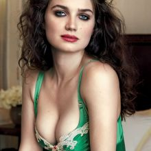 Eve Hewson hot nightwear cleavage for GQ magazine 2015 October 2015 3x UHQ