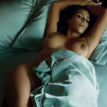 Kim Kardashian naked for GQ magazine 2016 June nude topless 3x HQ adds