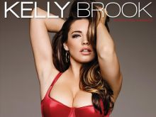 Kelly Brook hot 2015 Calendar Cover 1x UHQ
