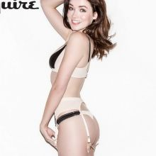 Sarah Bolger topless Esquire magazine 2015 March issue 6x HQ