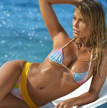 Samantha Hoopes - Sports Illustrated Swimsuit 2017 topless bare ass see through tiny bikini big boobs 29x HQ photos