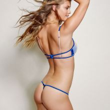 Nina Agdal see through Beach Bunny Love House lingerie 2015 collection 11x HQ
