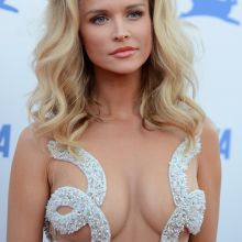 Joanna Krupa see through dress on PETA's 35th Anniversary Party in Los Angeles 29x UHQ