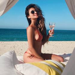 Shay Mitchell curves in sexy bikini HQ photo