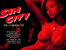 Jessica Alba topless on Sin City directors cut DVD cover HQ