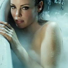 Chandra West nude TJ Scott In Then Tub photo shoot 2x UHQ