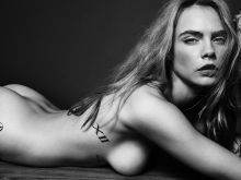 Cara Delevingne naked for Esquire magazine 2016 September 6x HQ photos