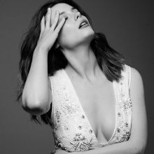 Gillian Jacobs sexy cleavage photo shoot for Yahoo Style 8x HQ photos
