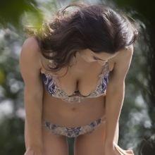 Irina Shayk hot lingerie photo shoot in Italy 7x HQ