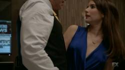 Emma Roberts, Leslie Grossman - American Horror Story S07 E04 720p cleavage pokies raunchy boobs grabbing scenes
