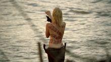 Ingrid Bolsø Berdal - Westworld S01 E04 720p topless scene