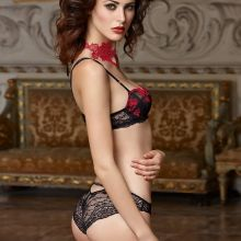 Maud Le Fort sexy see through Lise Charmel 2014 lingerie 79x UHQ