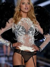 Martha Hunt sexy 2014 Victoria's Secret Fashion Show in London 12x UHQ