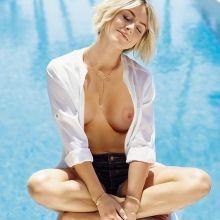 Julianne Hough nude Shape magazine cover topless photo shoot 3x HQ