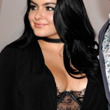 Ariel Winter cleavage boobs trying to pop out from see through bra on Audi Celebrates The 68th Emmys in West Hollywood 120x HQ - UHQ photos