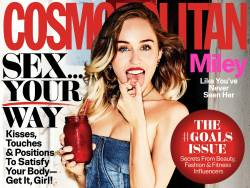 Miley Cyrus sexy for Cosmopolitan Magazine, September 2017 8x HQ photos