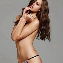 Jessica Clarke sexy Victoria's Secret lingerie 2014 February 22x HQ