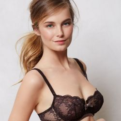 Bridget Malcolm sexy Anthropologie lingerie collection 63x UHQ
