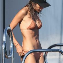 Alessandra Ambrosio sexy bikini candids on the yacht in the South Of France 20x HQ photos