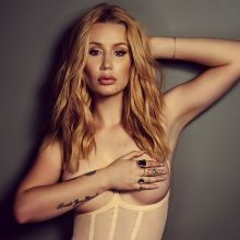 Iggy Azalea topless photo shoot for Schon magazine 2016 March 4x HQ photos