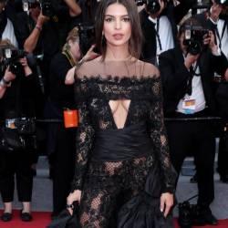 Emily Ratajkowski braless in see through dress on 'Loveless' premiere, 70th Cannes Film Festival, Cannes 121x UHQ photos