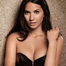 Olivia Munn sexy cleavage photo shoot for Men's Health 5x MixQ