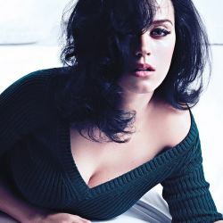 Katy Perry cleavage in W Magazine 2013 November 6x HQ