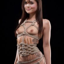 Jenna Louise Coleman form Doctor Who nude art photo UHQ