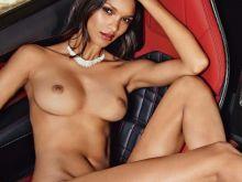 Lais Ribeiro nude Lui magazine 2014 July August 5x HQ