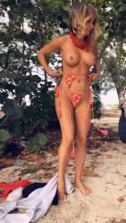 Sara Jean Underwood - Bahamas Trip - Day 2, Private Content - November 2018