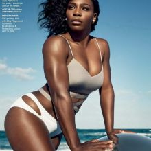 Serena Williams in sexy swimsuit for Self magazine 2016 September 5x UHQ photos