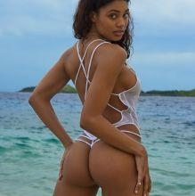 Danielle Herrington - Sports Illustrated Swimsuit 2017 topless bare ass see through tiny bikini 30x HQ photos