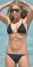 Sylvie Meis Hot Bikini Candids on the Beach in St. Tropez 2014 July 29x UHQ