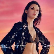 Kendall Jenner Calvin Klein lingerie 2016 Spring 3x HQ photos