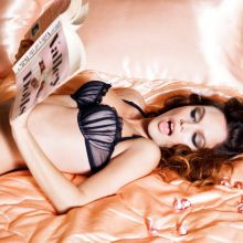Rachel Bilson sexy lingeire photo shoot for GQ magazine 5x HQ