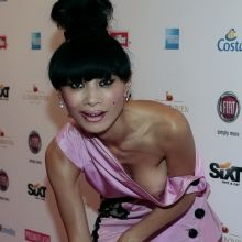 Bai Ling nip slip on Movie Meets Media red carpet in Hamburg 5x HQ