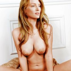 Uma Thurman nude spread legs naked photo shoot UHQ