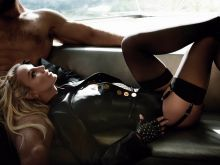 Britney Spears hot in stockings for V Magazine 2016 Spring 5x HQ photos