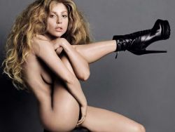 Lady Gaga nude GQ magazine 2013 November 4x UHQ
