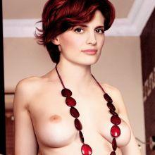 Stana Katic nude Esquire magazine cover photo shoot UHQ