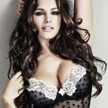 Kelly Brook hot lingerie in Manic Magazine 2014 June photoo shoot 17x UHQ